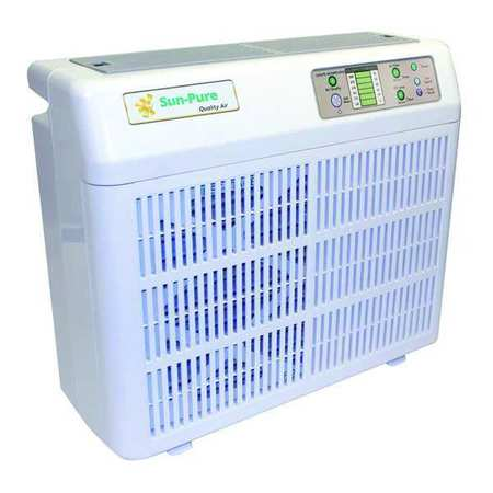 Portable Air Cleaner, 5 Stage Media/UV