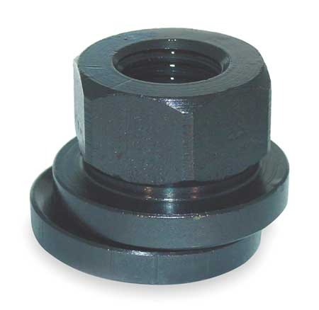 Spherical Flange Nut, 1/2-13, Gr 2, ST, B/O