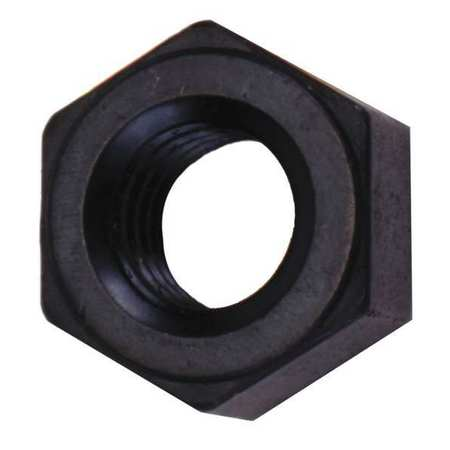 "3/8""-16 Grade 2H Black Oxide Finish Alloy Steel Heavy Hex Nut"