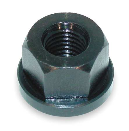 Swivel Flange Nut, 5/8-11, Gr 2, ST, B/O
