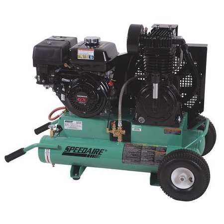 Gas Air Compressor, 9.0 HP, 17.5 CFM Max