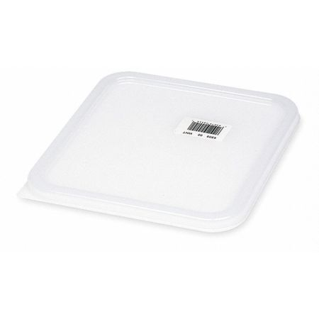 Square Storage Container Lid,  White