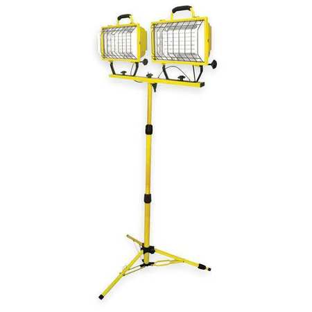 LUMAPRO Fluorescent Yellow Temporary Job Site Light