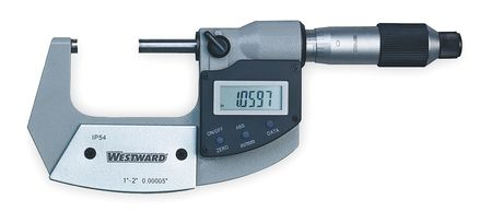 Electronic Micrometer, 1-2 In, IP54, SPC