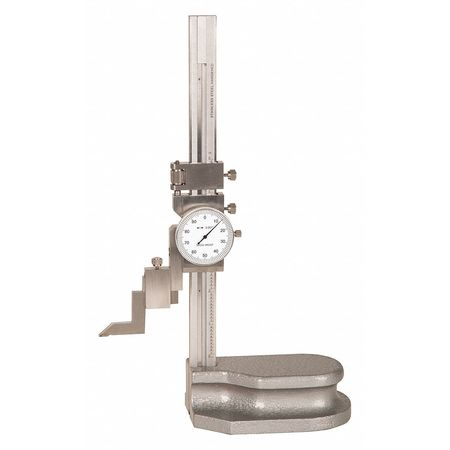 Height Gage, Dial, 0-6 In