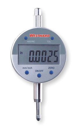 Electronic Indicator, SPC, 0-0.500 In