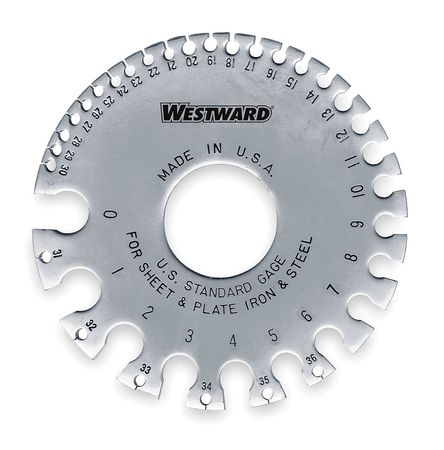 Wire Gage, Ferrous, 0-36
