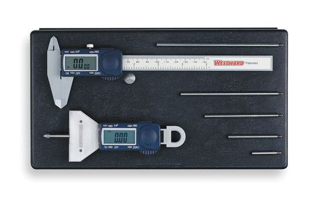 Precision Measuring Tool Kit, 2 Pc