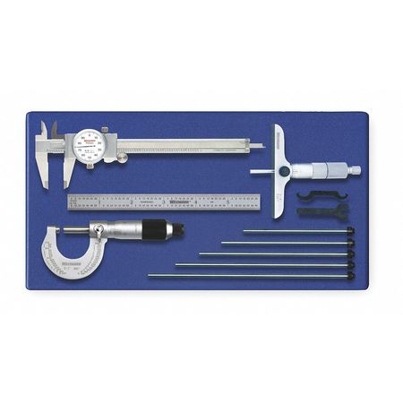 Measuring Tool Kit,  4pc