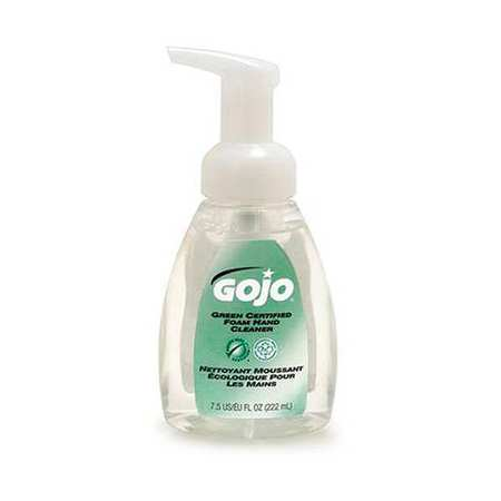 GOJO Foam Soap, Size 7.5 oz., Yellow, PK6