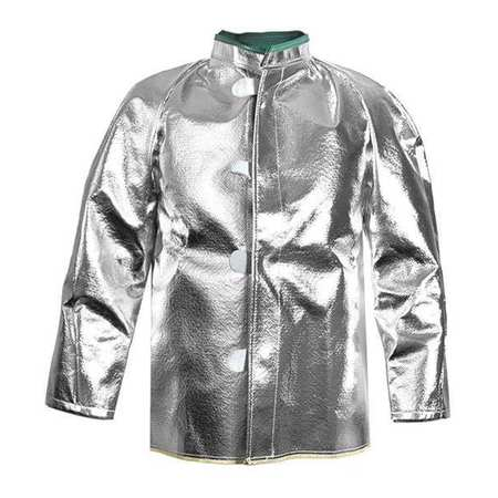 Aluminized Jacket, XL, Carbon Kevlar(R)