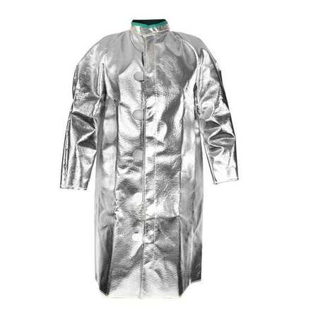 Aluminized Jacket, L, Carbon Kevlar(R)