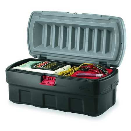 Attached Lid Container, 4.67 cu ft,