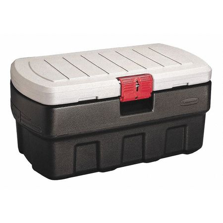 Attached Lid Container,  4.67 cu ft.,