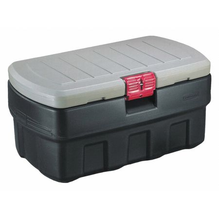 Attached Lid Container,  6.41 cu ft.