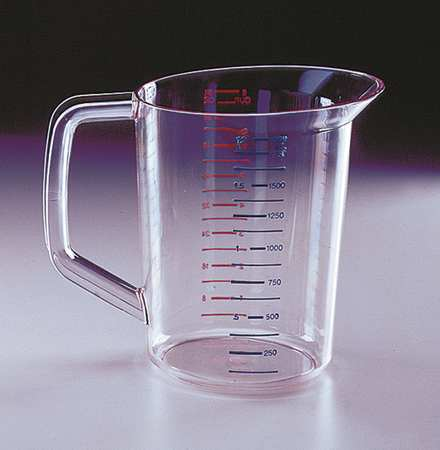 Polycarbonate Measuring Cup, 2 Quarts