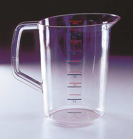 Polycarbonate Measuring Cup, 4 Quarts