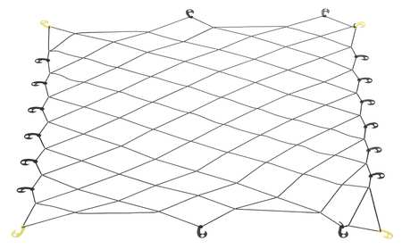Adjustable Truck Cargo Net, 78 In x 60 In
