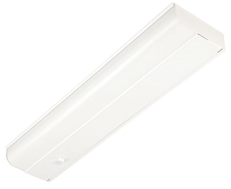 Undercabinet Fixture, T8, 15W, 120V, 1 Lamp