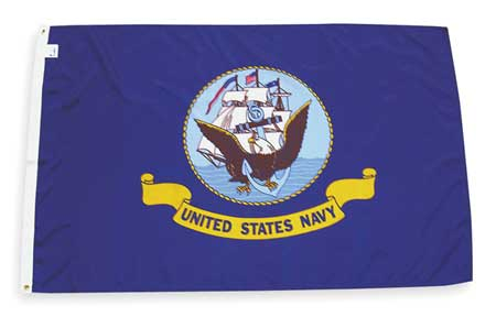Navy Flag, 3x5 Ft