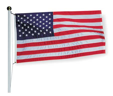US Flag, 8x12 Ft, Nylon