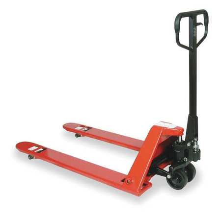 Pallet Jack, Low Profile, 4400 lb Cap