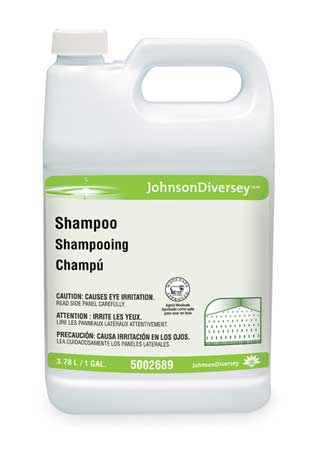 Carpet Shampoo, 1 gal., Fruity