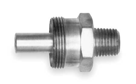 Male Insert Fitting, 3/8-18, Brass