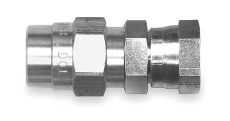 Connector Fitting, ABS, 7/8 In OD