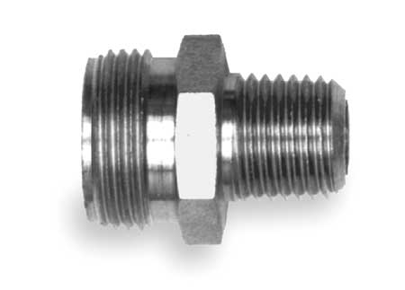 Adapter Fitting, ABS, 3/4 In OD, 1/4-18