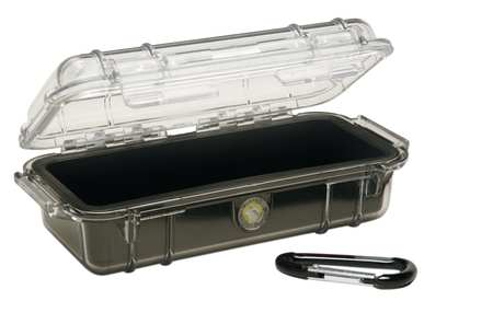"Water Resistant Micro Case,  3.87"" W x 7.50"" L x 2.43"" H"