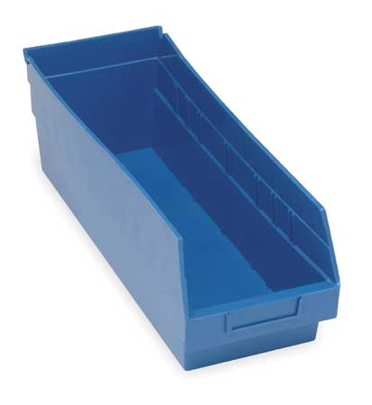 Shelf Bin,  17-7/8 In. L, 6-5/8 In. W, 6 In H