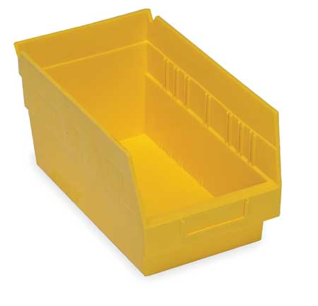 Shelf Bin,  11-5/8 In. L, 6-5/8 In. W, 6 In H