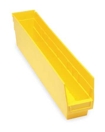 Shelf Bin,  23-5/8 In. L, 4-1/8 In. W, 6 In H