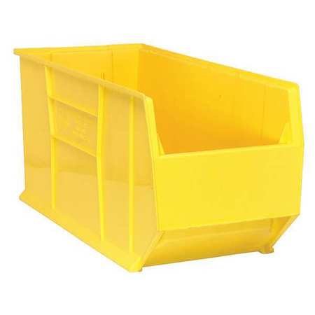 Bin, 35-7/8 In. L, 16-1/2 In. W, Yellow