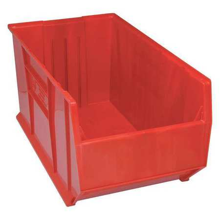 Bin, 35-7/8 In. L, 19-7/8 In. W, Red
