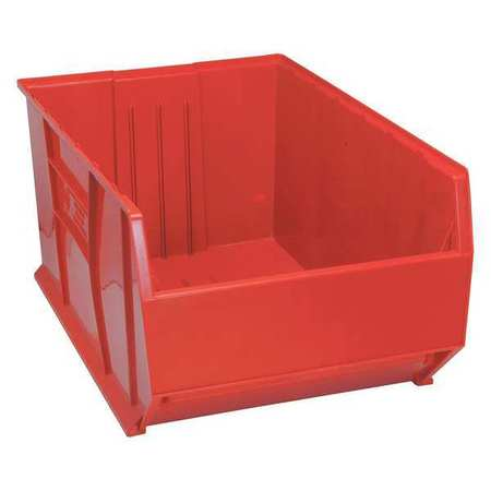Bin, 35-7/8 In. L, 23-7/8 In. W, Red