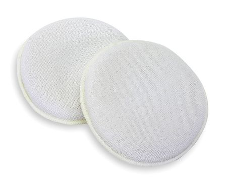 "Applicator Pad, White, 4 "". Dia., PK2"