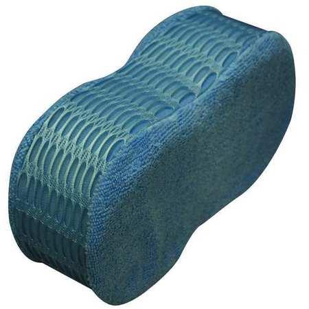 "Scrubber Sponge, 9""L, 4-1/2""W, Mcrfbr, Blu"