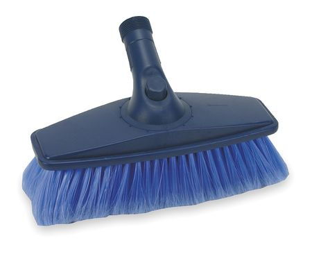 "Flow Through Brush, 10"" L, Blue"