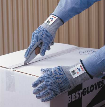 Cut Resistant Glove, Reversible, L