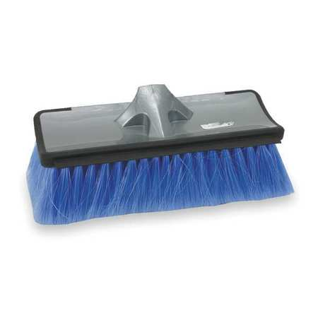 "Flow Through Brush Head, 10"" L, Blue"