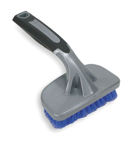 "Tire Brush, 10"" L, Blue"