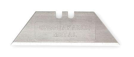 """2-Pt Unbrkable Blade, 23/32"""" W,  PK5"""