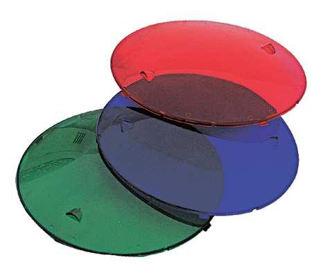Lens Kit,  1 Ea Red,  Blue & Green Lens