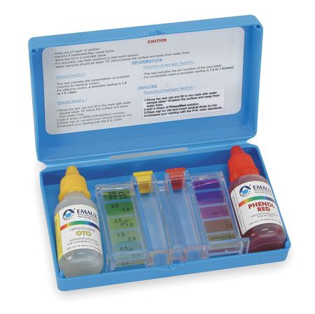 Water Analysis Kit,  For PH and Chlorine