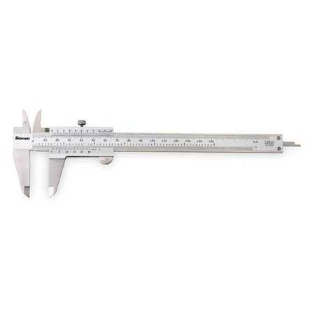 Vernier Caliper w/Case, 8 In/200mm