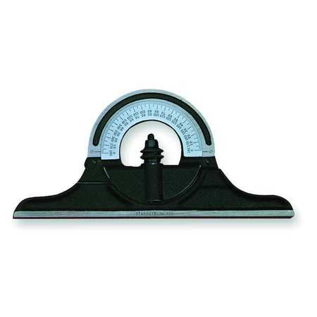 Protractor Head, Non-Reversible, Cast Iron