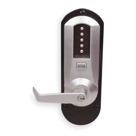 Push Button Exit Trim, Key Override, Left