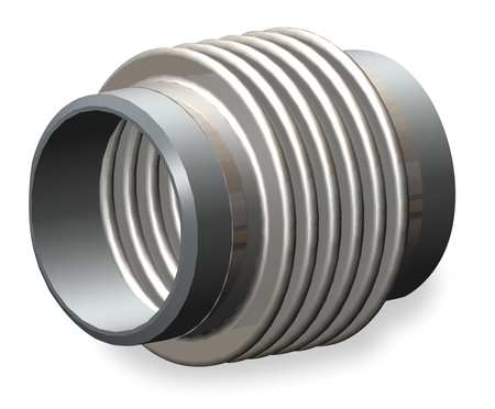 Metal Expansion Joint, 2 1/2 In Diameter